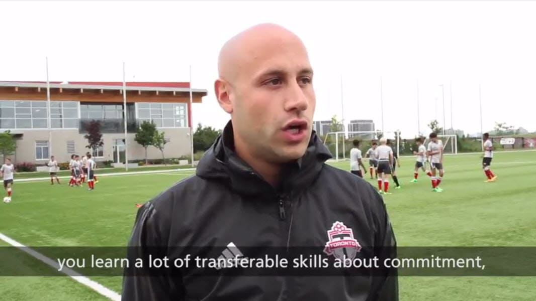 Toronto FC U13 coach Jon Mondino on the lessons kids learn from football.