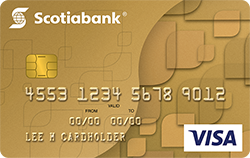 Scotiabank Gold Visa Card