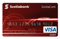 ScotiaCard Visa Debit Card