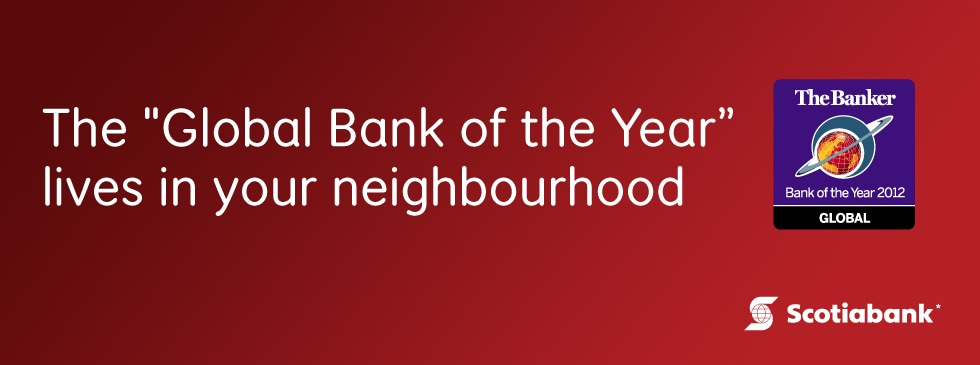 The Global Bank of the Year lives in your neighbourhood
