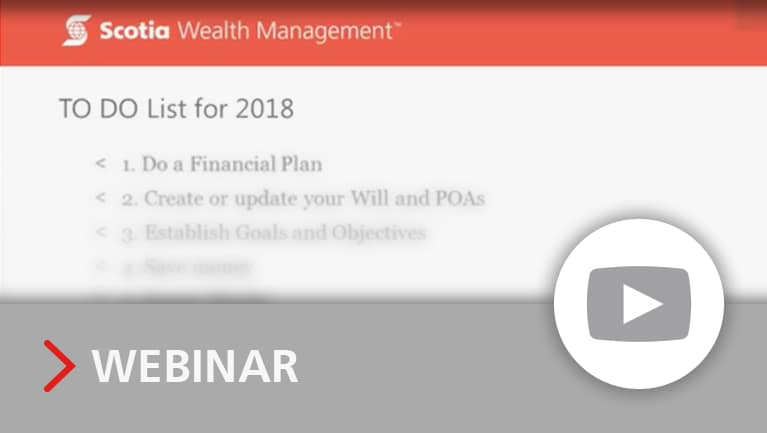 Financial planning new year's resolutions