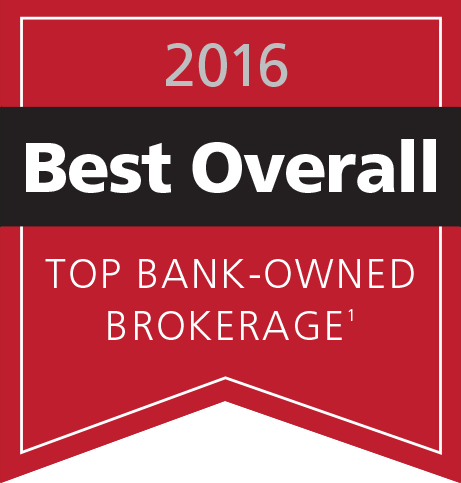 2016 Best Overall Top Bank-Owned Brokerage