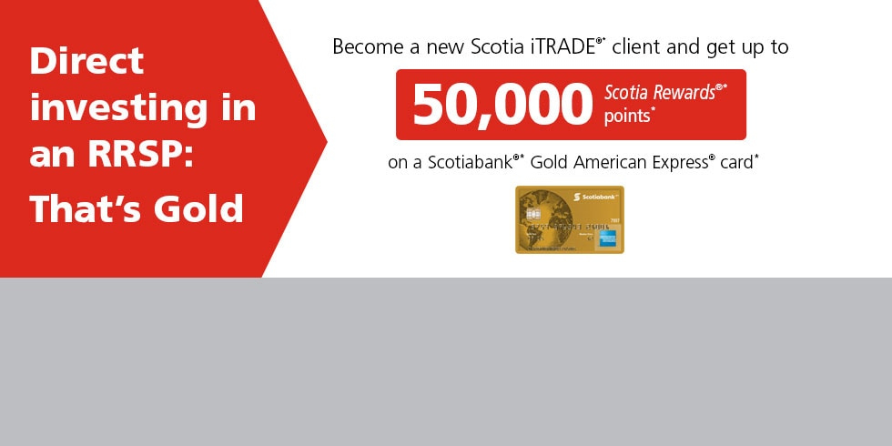 Direct Investing in an RRSP: That's Gold.