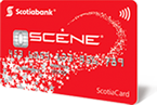 Scotiabank SCENE Card